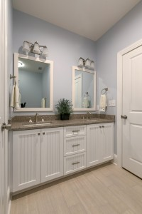 myers guest bath beaded cabinet doors