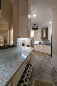 Angled Kitchen Cabinetry