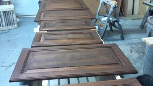 shop stained doors process