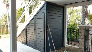 leask polyethylene louvers enclosed outdoor storage