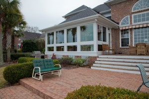 Sunroom addition in Mt Pleasant