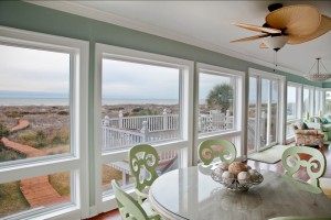 Isle Of Palms large sunroom addition