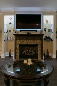 myers reclaimed wood custom fireplace surround