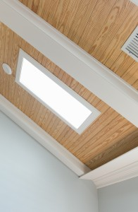 hansen ceiling beams with trim