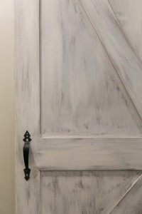 myers hand glazed barn door